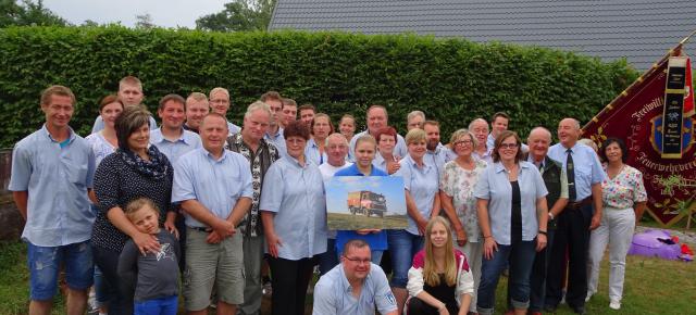 Vereinsjubiläum, 25 Jahre Feuerwehrverein Zeutsch e.V.