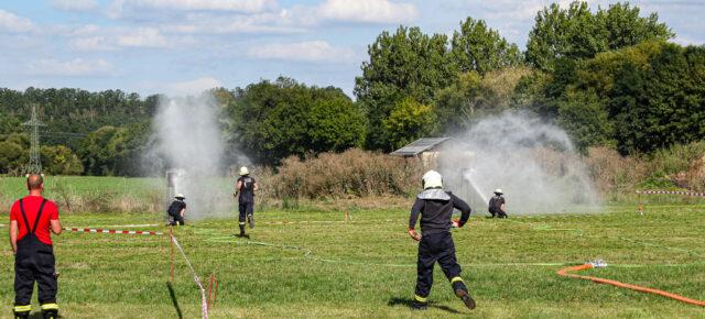 Freundschaftspokal der Feuerwehren in Zeutsch